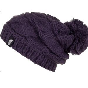 North Face Beanie Triple Cable Knit